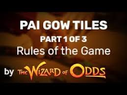 Pai Gow Tiles Rules Of The Game