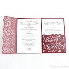 Rsvp Card Sizes Rsvp Card Size Wedding Laser Cut Wedding Invitation Card