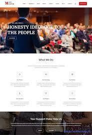 Political Website Templates 10 Best Political Website Template 2019 Website Template