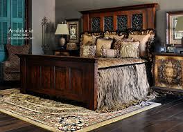 tuscan style bedroom furniture. Andalucia Collection Includes An Impressive And Hefty Tuscan Style King Bed With High Headboard. Description Bedroom Furniture