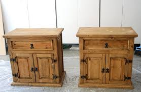 Nightstands Before They Were Painted.