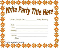 invitation party templates lovely free bachelorette party invitation templates word for