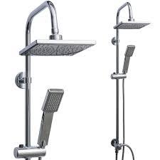 Details Zu Regendusche Set Duschsäule Duschpaneel Brause Handbrause Regen Kopfbrauseset