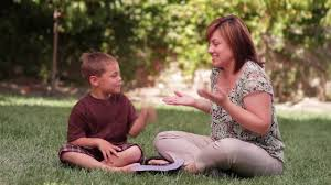 Image result for free clip art parent teaching asl