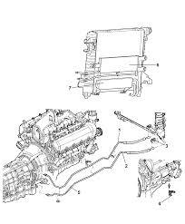52029089ab genuine mopar cooler transmission oil rh moparpartsgiant 2007 dodge ram 2500 transmission diagram 1999