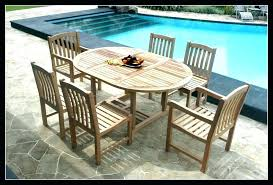 wooden lawn furniture wooden patio dining tables image of teak wood patio furniture seat of 6