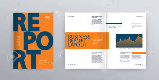 Free Company Report Template Layout Design With Cover Page For Company Profile Annual