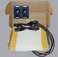 heated seat switch hi off lo rectangle switch seat heater 2 seats heated seat kit
