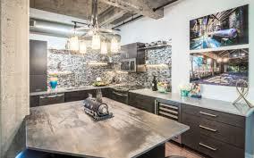 ann arbor loft kitchen remodel with a porcelain countertop