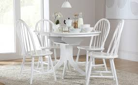 incredible round white dining table set round white dining table and chairs probivka