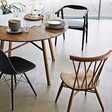 round wooden dining tables why wood design with chairs more