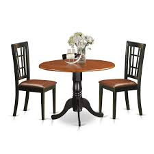 Shop 3 Piece Dublin Kitchen Table Set With Dining Table And 2 Solid