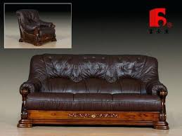 leather and wood sofa outstanding leather and wood sofa wooden sofa from manufacturers factories wholers leather leather and wood sofa