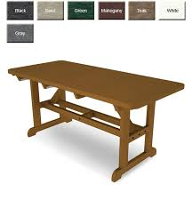 PolywoodFurniturecom POLYWOOD PT3672 Commercial Grade Dining Table