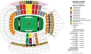 Cardinal Stadium Seating Seat Location Price Qty Buy Tickets