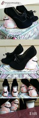 Irregular Choice Shoe Size Chart Irregular Choice Flopsy Black Bunny Rabbit Heel Worn A Few