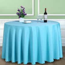 cloth table covers solid color polyester round table cover fabric square dining table cloth tablecloth hotel