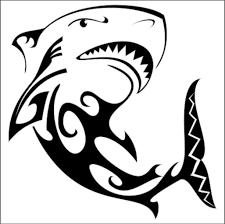 Samolepka žralok Tetování Samolepky Nejen Na Autocz