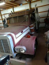 Peterbilt Pickup Truck - Semi body mounted on truck frame for sale ...