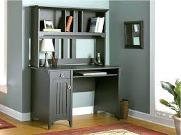 white gray solid wood office. Solid Wood Corner Computer Desk Small White L Shape Modern Ideas Brown Gray Office T