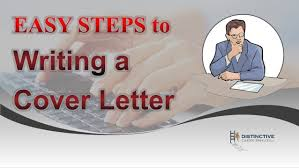 Steps To Writing A Cover Letter For Resume Easy Steps To Writing A Cover Letter