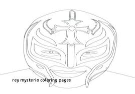 Rey Mysterio Coloring Pages Free Pictures Printable Book Area Best