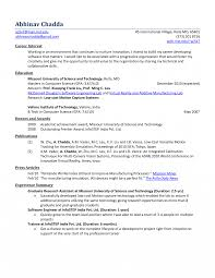 Motion Controlngineer Sample Resume Job Objectives Mechanical