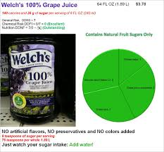 welch s 100 g juice risk and nutrition