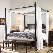 Canopy Bed Crown Molding Bedroom Beautiful Canopy Bed Drapes For Bedroom Decoration Ideas