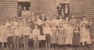 Jones School Picture, Jasper County, IL