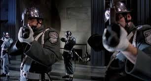 screenshot del film Brazil di Terry Gilliam del 1985