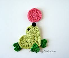 Free Crochet Applique Patterns Custom Design