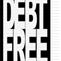 Debt Free Charts Printable Our Debt Free Family Commit Plan Take Action