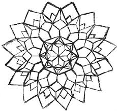 Printable Coloring Pages geometric shape coloring pages : Wonderful Ideas Easy Geometric Coloring Pages Viewing Gallery For ...