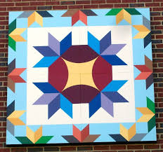 198 best Quilt Barns / Barn Quilts images on Pinterest | Barn ... & Quilt Block Installed On Marion Elementary School -