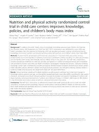 Cchcs Org Chart Nutrition And Physical Activity Randomized Control Trial In