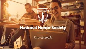 examples of national honor society essays the example of national honor society essay