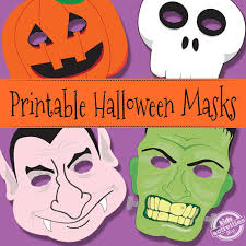 Print, color, cut out, and wear these easy paper masks. Free And Printable Halloween Masks In Pdf Cisdem
