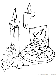Small Picture Christmas Candles 7 Coloring Page Free Christmas Coloring