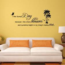 sunny day home office. I LIKE SUNNY DAY Quotes DIY Wall Sticker For Bedroom Living Rooms Home Decor Office Stickers Art Decoration Dorm Wallpaper-in From Sunny Day
