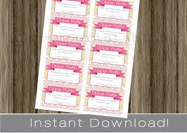 baby shower diaper raffle tickets funky pink and green chevron 128270zoom