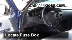 interior fuse box location 1993 1998 toyota t100 1996 toyota 1993 1998 toyota t100 interior fuse check