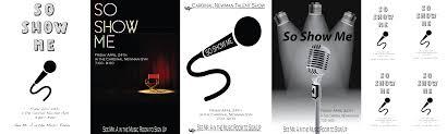 Talent Show Poster Designs So Show Me Talent Show Poster Steven Bucher Graphic Design