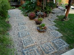 Pebble Garden Jeffrey Bales World Of Gardens Building A Pebble Mosaic Stepping