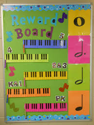 Music Reward Board For Elementary Music Classes Found This