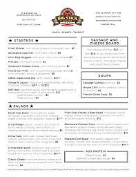 Menus | The Big Stick Restaurant & Sports Bar