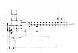 frank lloyd wright s martin house floor plan section 1076