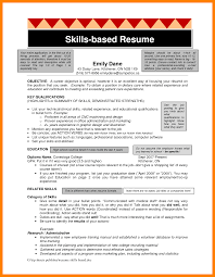 Merry Skill Based Resume 12 7 Skill Based Resume Samples Cv