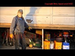 Garage door repair, uneven floor - YouTube