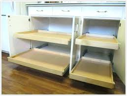 diy pull out drawer installing pull out drawers in kitchen cabinets best roll out drawers for